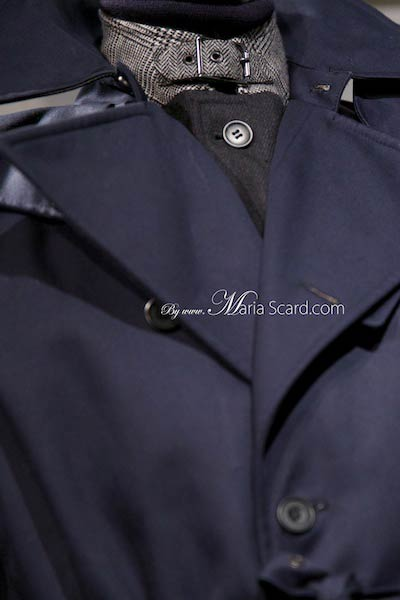 Marks & Spencer 2013 Autumn Winter Jacket Collection - detail of clasp colar