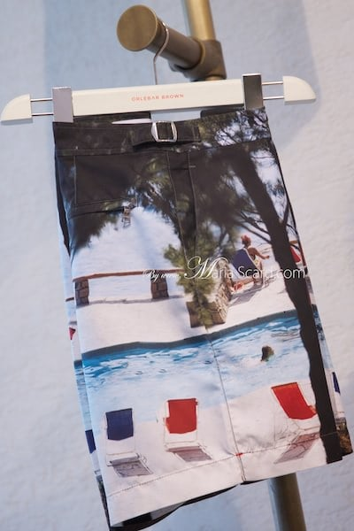 Orlebar Brown - Monaco Collection Shorts - Picture of Beach life