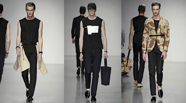 Lee Roach Spring Summer 2014 Collection catwalk London Collections Men