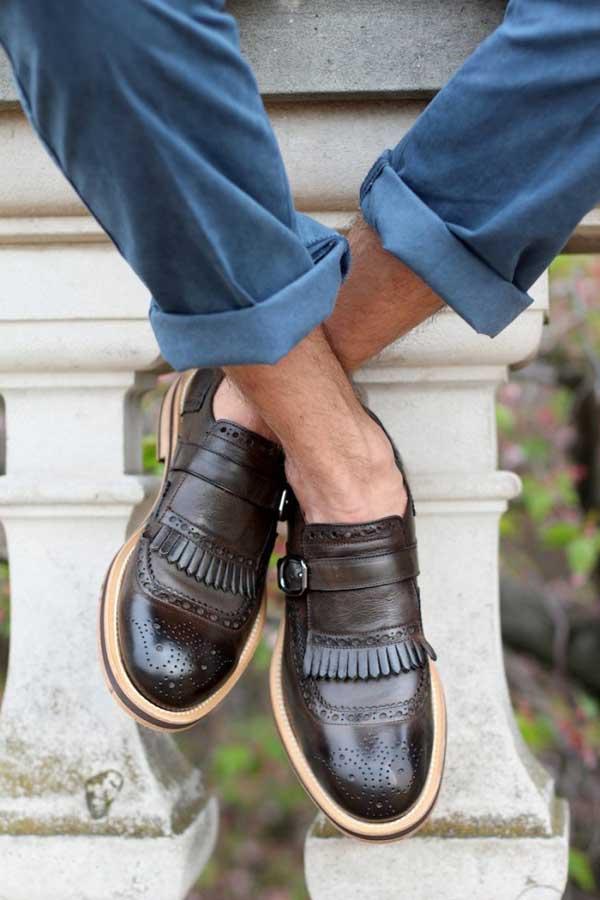 Tassel brogues shoes for men 2013
