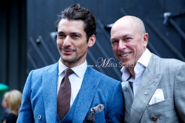 Dylan Jones & David Gandy - London Collections Men
