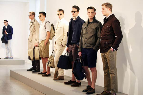 Gieves and Hawkes ss14 Collection