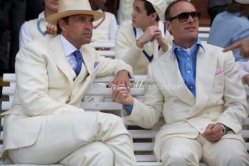 Savile Row - London Collections Men - White Suits