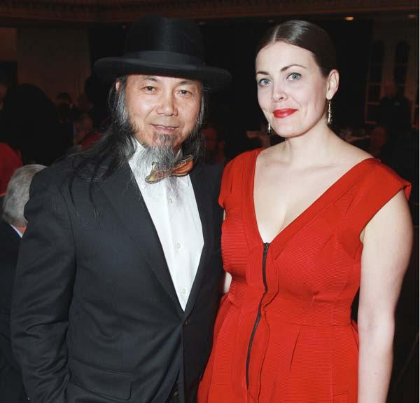 DaHaung-Zhou in Christopher Chaun Cyclades bow tie