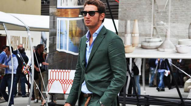 Green Suits For men and eyewear