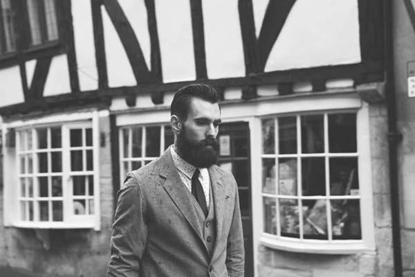 Ricki Hall - Tattoo and Beard Male Model