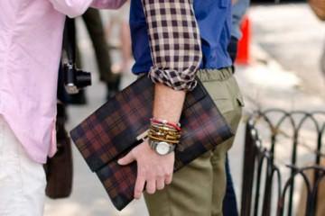 Clutch man bag for men