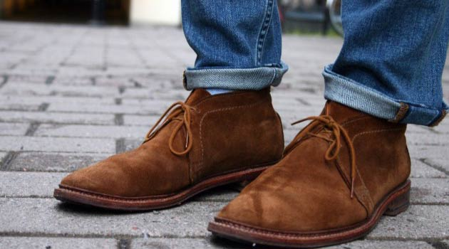 Desert Suede Boots Brown