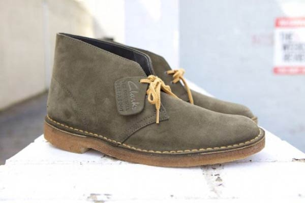 Desert Suede Boots Clarks