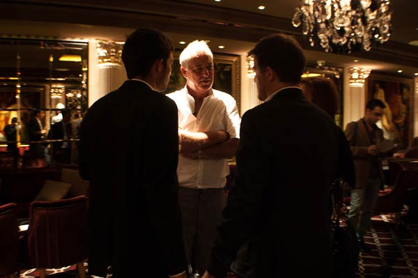 Michael Barrymore - Madebydave Launch party menswear