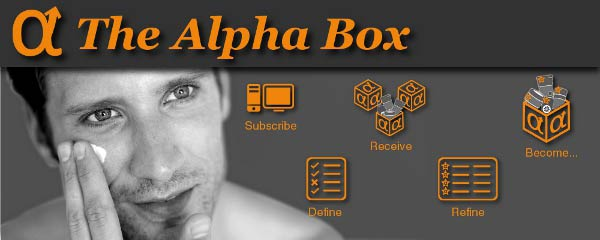 The Alpha Box MSF - Male Grooming