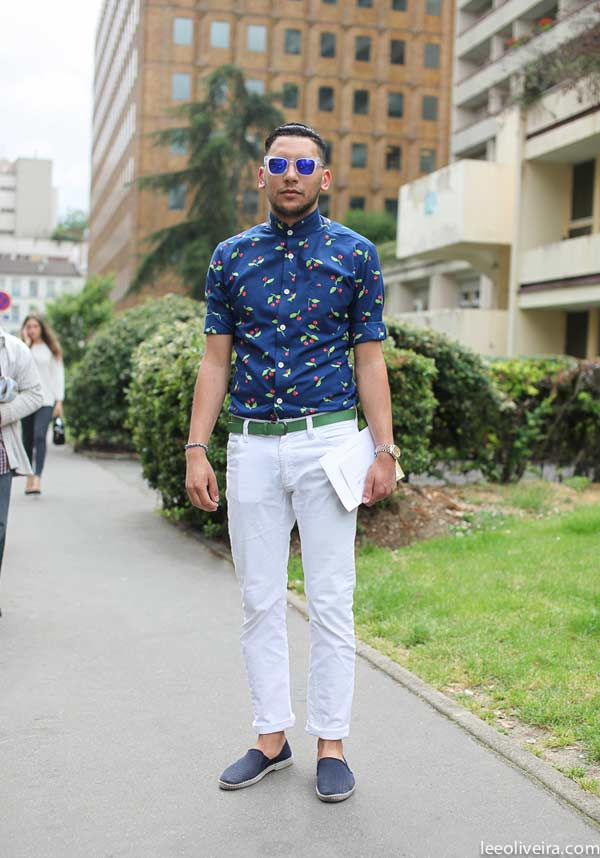 What To Wear On Your First Date Floral shirt