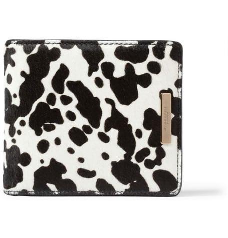 Burberry Prorsum Calf Hair Billfold Wallet