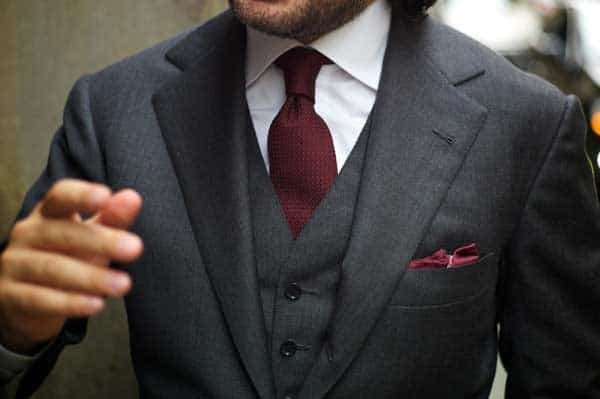 Business Suits for men  wool tie