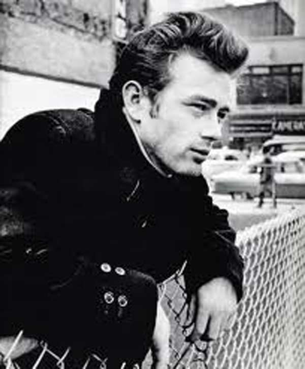 James Dean- Style Icon Leather Jacket & T- Shirt