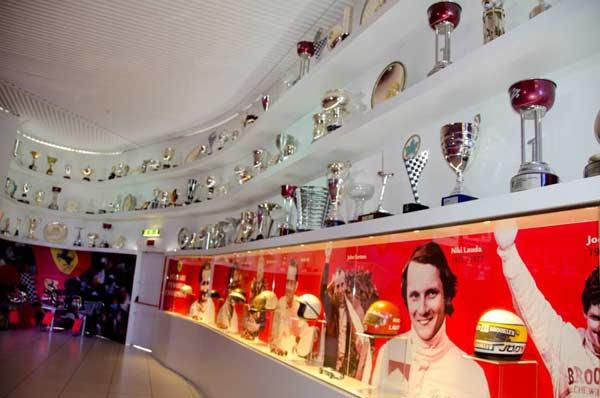 Maranello Emilia Romagna Italy Ferrari Trophy Room