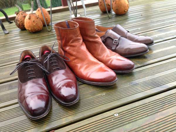 Winter brogues and boots for men