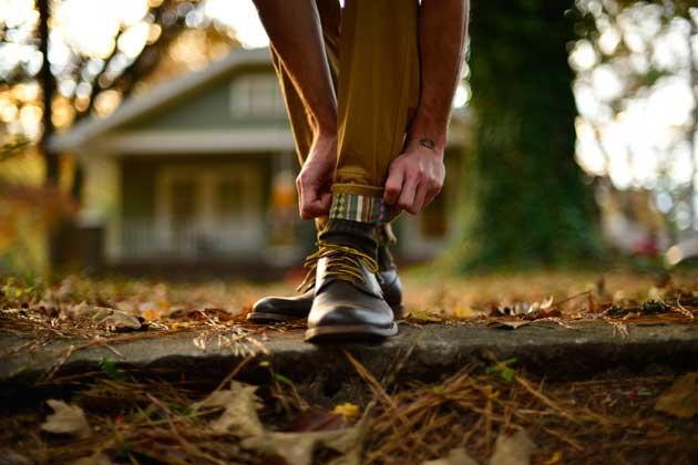 Cuffed Trousers - Finn Apparel Boots