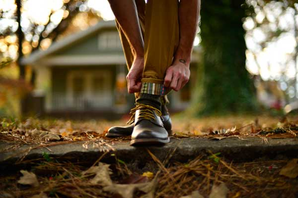Cuffed Trousers - Finn Apparel - Boots