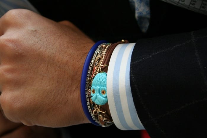 Men S Bracelets Show Some Wrist Fashion Men Style Fashion
