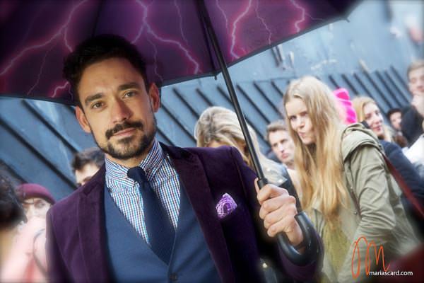 Carl Thompson - PinCollar Shirts - MenStyleFashion Umbrella