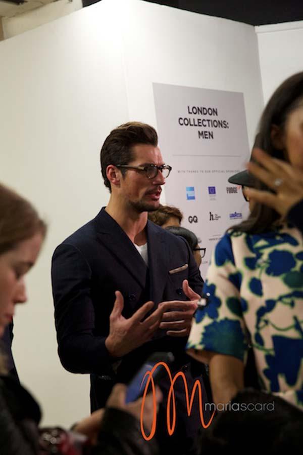 David Gandy -London Collections Men Breakfast