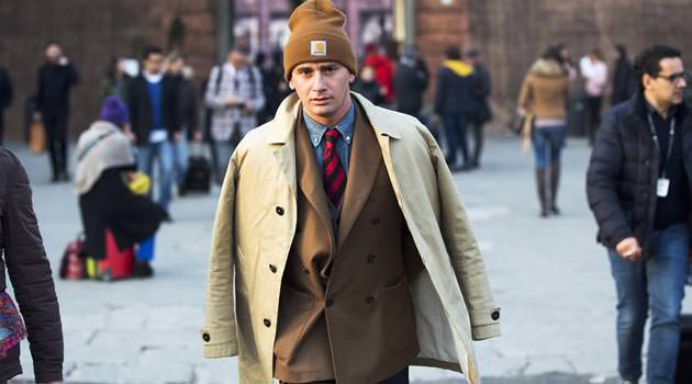 Pitti Uomo Street Style - Beanie Tailored Suit Trend 2be7e6a6bc4