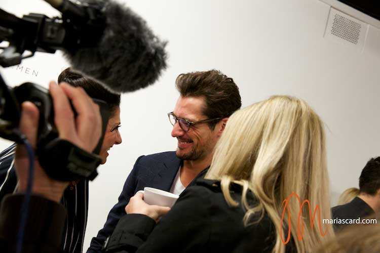 David Gandy and Gracie Opulanza London Collections Men 2014