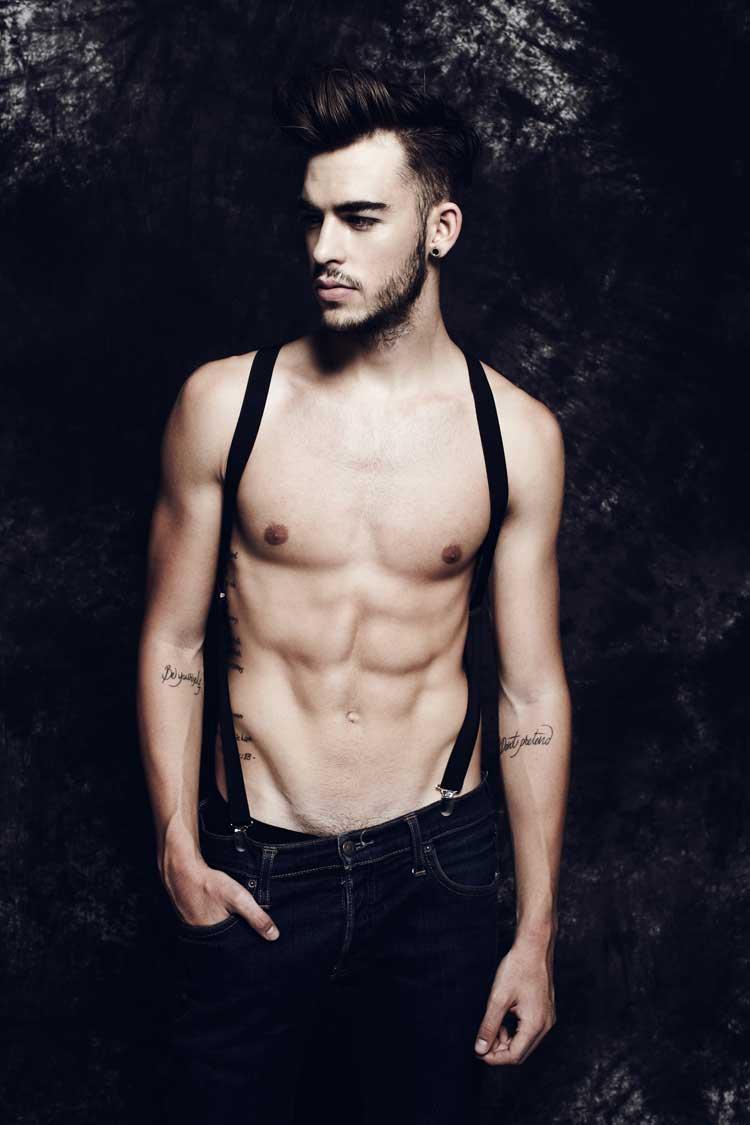 Jesus palacios spanish male model 2014 1