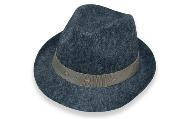 Fedora - Wool Felt - Grey