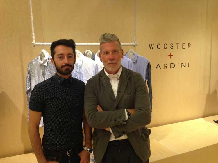 Pitti Uomo - Interview with Nick Wooster and Luigi Lardini