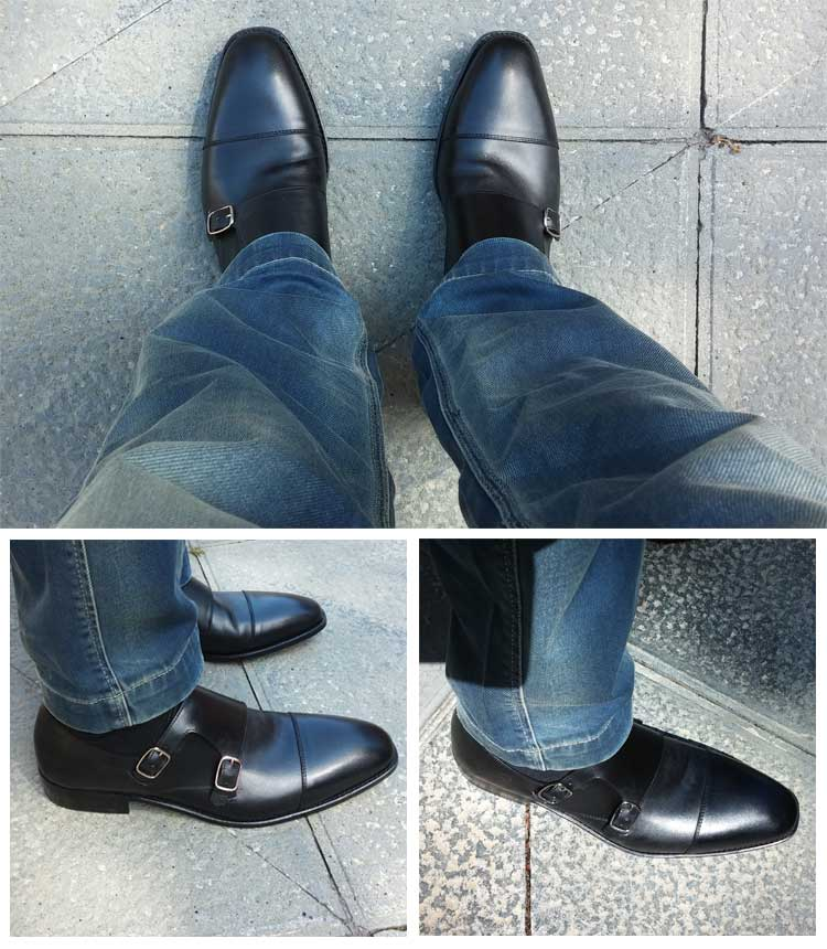 Double Monk Strap Shoes The Dressiest Of All Men S Shoes Men