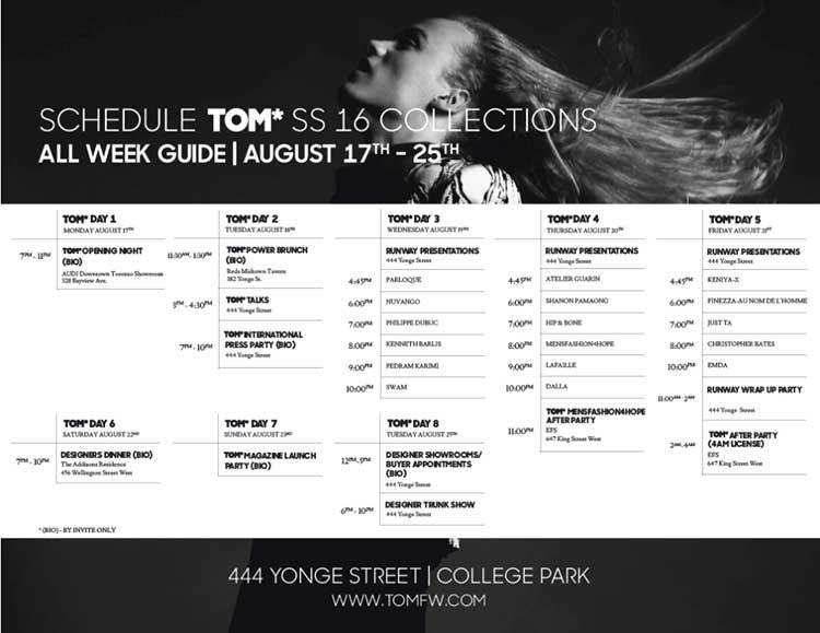 TOM - Toronto Men's Fashion Week SS16 Canada (1)