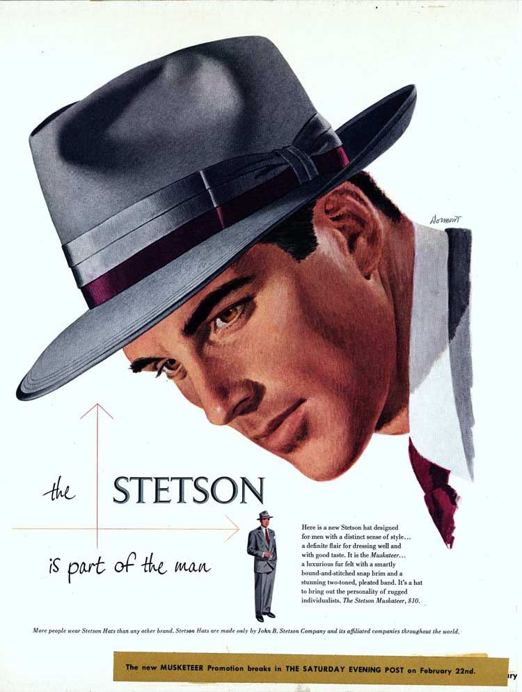 Stetson Hats - 150 Years Of History - Men Style Fashion ab4aa1f3e55
