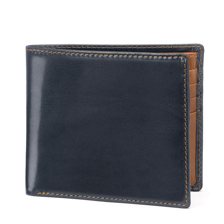 Pick of the pack: Hip wallet in dark navy and tan £150