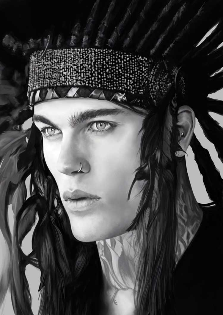 stephen_james_with_an_indian_hairpiece_by_denkata5698-d8cp64w