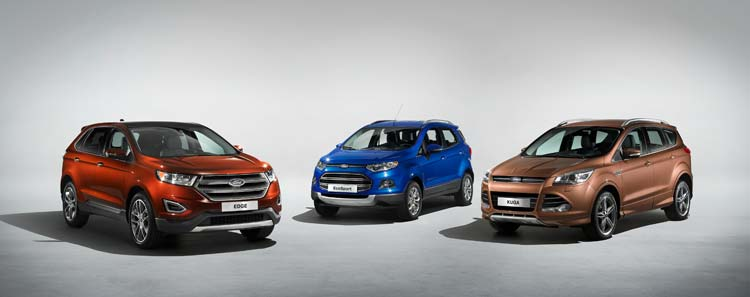 the-Ford-SUV-family