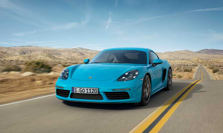 The New Porsche 718 Cayman
