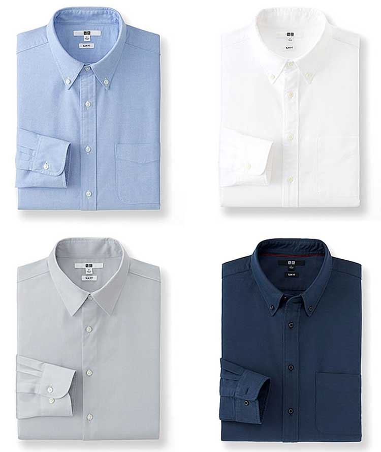 Oxford-Button-Down-Shirts