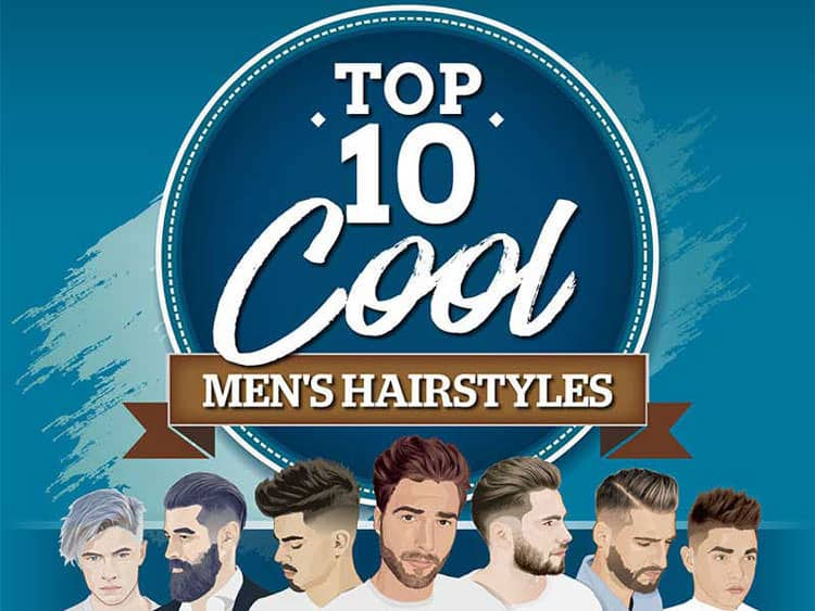 Top 10 Cool Hairstyles For Men Men Style Fashion