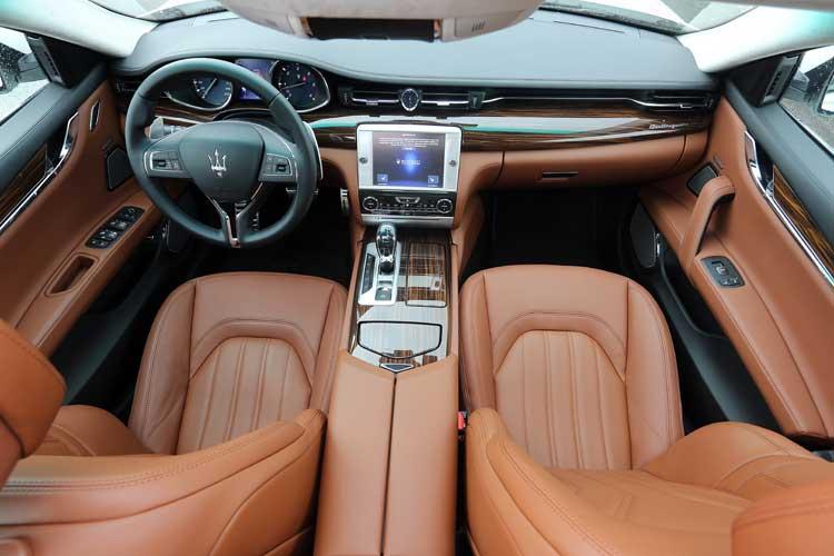 Maserati Quattroporte Diesel - Our Review Interior