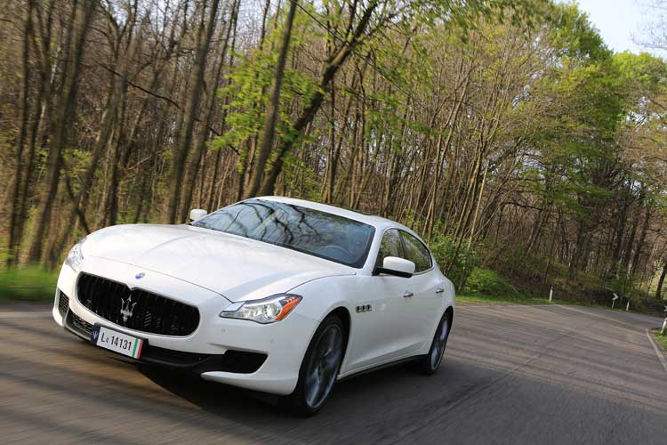 Maserati Quattroporte Diesel - Our Review