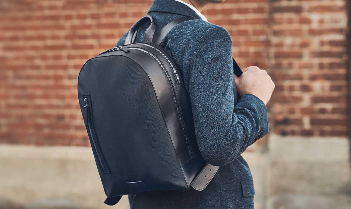 Carl Friedrik - The Luxury Italian Leather Backpack - Men Style ...