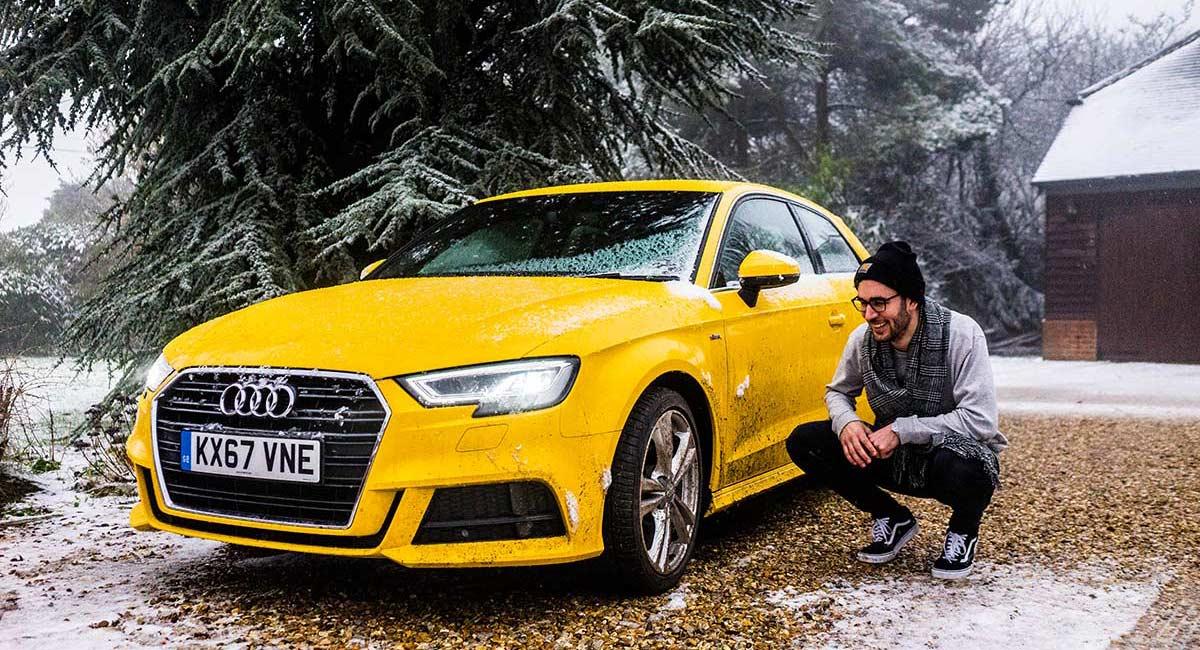 Audi A3 Winter Fun In The Uk Men Style Fashion
