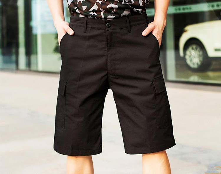 Cargo shorts for men