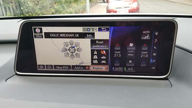 RX450h Hybrid F Sport GPS