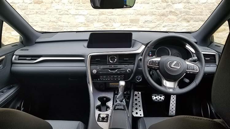 RX450h Hybrid F Sport Interior