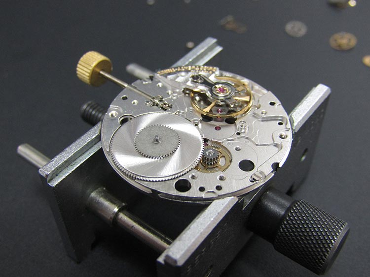 """Watch movement skilfully re-assembled and checked for accuracy"" Omega watch"