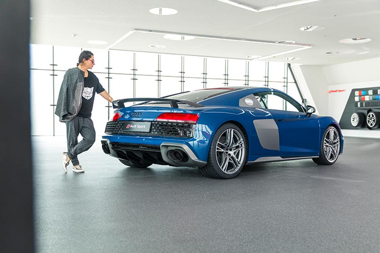 Audi R8 V10 Performance Quattro Audi Sport Germany Gracie Opulanza Coupe