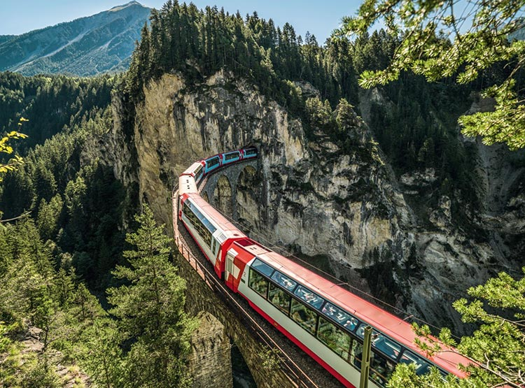 Switzerland trains